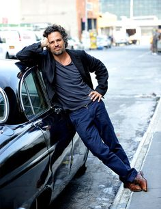 Mark Ruffalo: Getting even better looking as he gets older