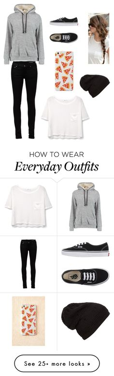 """""""everyday outfit for school"""" by marilyn341 on Polyvore featuring Mode, Yves Saint Laurent, Vans und MANGO"""