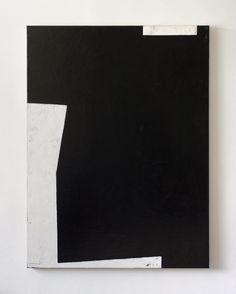 Stephen Whatcott | Big Black acrylic abstract painting
