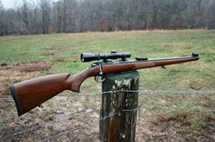The CZ 550 FS in .30-06. I love the full length Bavarian style Mannlicher stock. One day soon I will own this rifle.
