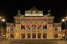 Traviata at the Wiener Staatsoper, Tues, Sept and New Live Streaming! Theatre Architecture, Vienna State Opera, Music Tours, Classic Building, Vienna Austria, Concert Hall, Where To Go, Cool Places To Visit, Planer