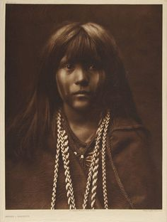 Mosa - Mohave, by Edward Sherrif Curtis, 1903