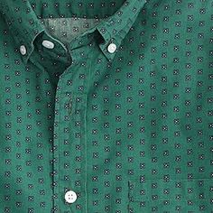 Secret Wash shirt in foulard print
