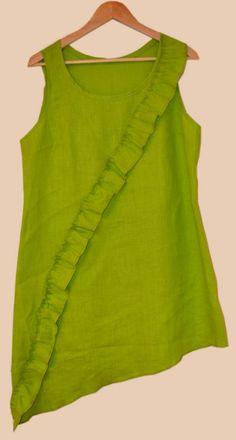 Vaajakoskelaisen Tuikkeli-tuotemerkin pellavatunikoita nyt saatavilla Kamanan puodista! Outfits, Tops, Women, Fashion, Clothes, Moda, Suits, Women's, Fasion