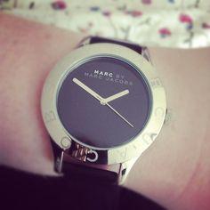 Marc by Marc Jacobs Black Patent Blade watch, via the melancholic temperament