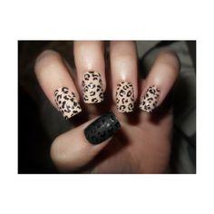 lepard nail artt