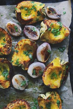Roasted Acorn Squash | With Food + Love