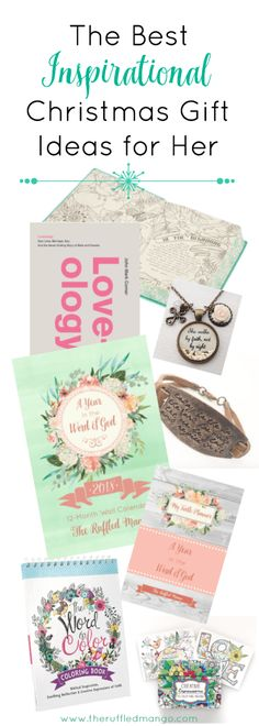 There's something meaningful about scripture-based Christmas gift ideas. You're showing love for someone's very soul and wanting to cultivate that desire in them for God's Word. Merry Little Christmas, Christmas Home, Holiday Crafts, Holiday Ideas, Holiday Traditions, Holiday Desserts, Inspirational Gifts, Coloring Books, Alcoholic Drinks