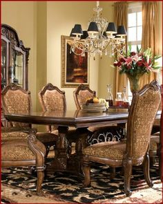 AICO Dining Table Windsor Court AI 70002TBMS By AICO. $1847.00. AICO Dining  Set
