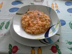 Risotto con zucchine e gamberetti!!!