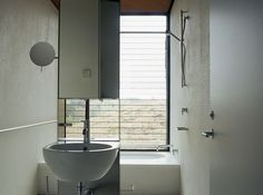 9 black and white bathrooms | concrete design home | pinterest, Hause ideen