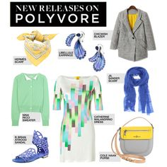 """""""New Releases: 8 Hot Ticket Items to Love Now"""" by polyvore-editorial ❤ liked on Polyvore"""
