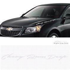 Car Slogan Decal Lettering Sticker Pair 10001 for GM CHEVROLET Detailkorea Grien #Griben