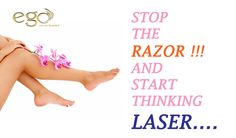 Book your appointment for ‪#‎LASER‬ REMOVAL with us. ‪#‎egowellness‬.