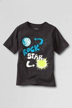 Rock Star Graphic T-shirt