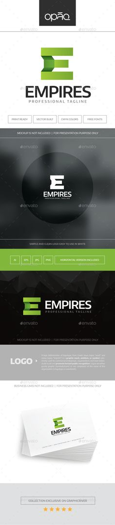 Empires Logo — Transparent PNG #startup #group • Available here → https://graphicriver.net/item/empires-logo/16950021?ref=pxcr
