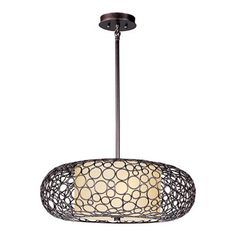 Maxim Lighting 21347DWUB 2 Light Meridian Large Pendant