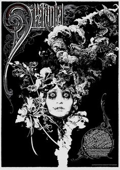 Aaron Horkey and Vania Zouravliov's Dracula poster for Mondo.