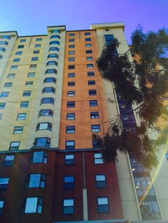 Awesome pic of San Francisco State University dorms