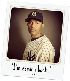 """I'm not going out like this"" - Mariano Rivera"