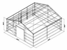 How to construct a 30ft x 40ft warehouse - Google Search