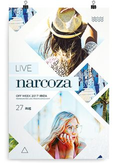 Summer Live Flyer – About Sweets Email Design, Ad Design, Book Design, Cover Design, Branding Design, Design Layouts, Identity Branding, Corporate Design, Visual Identity