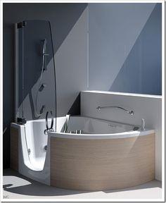 Wanna z parawanem, z prysznicem, panel prysznicowy we wannie, kabina - Wnętrza - forum.muratordom.pl