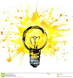 http://thumbs.dreamstime.com/z/lightbulb-idea-concept-watercolor-illustration-hand-drawn-sign-splash-texture-white-background-59269186.jpg