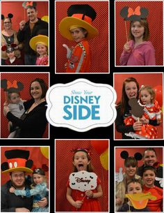 How To Make Disney Photobooth Props (with FREE printables) #DisneySide - Parenting In Northern Kentucky