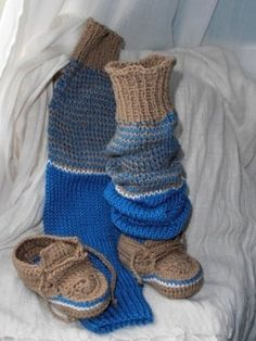 návleky a botky