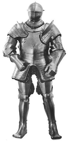 Henry VIIIs armor from the 1540s