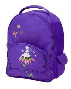 My Sweet Dreams Baby - Purple Fairy Kid's Personalized Backpack (http://www.mysweetdreamsbaby.com/personalized/kidsbackpacks.htm)