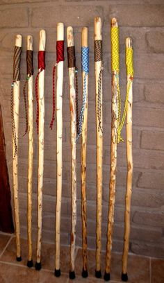 Yucca Hiking Sticks by DesertDebrisArt on Etsy, $38.00