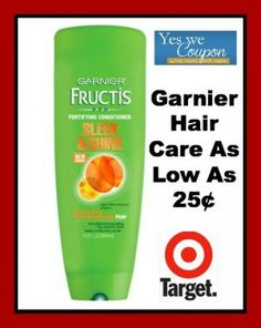 Hot Deal On Garnier at Target With New $2 Printable Coupon! As Low As 25¢! - http://yeswecoupon.com/hot-deal-on-garnier-at-target-with-new-2-printable-coupon-as-low-as-25%c2%a2/