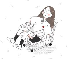 37.7rb Pengikut, 794 Mengikuti, 328 Kiriman - Lihat foto dan video Instagram dari Kee K. (@94mlk) Aesthetic Drawing, Aesthetic Art, Kawaii Drawings, Easy Drawings, Japanese Illustration, Illustration Art, Illustrations, Pretty Art, Cute Art
