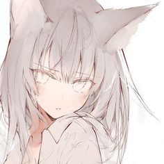 A online pace for discussion about anime/manga related things around the world Manga Girl, Anime Wolf Girl, Anime Girl Neko, Cool Anime Girl, Anime Chibi, Anime Art Girl, Manga Anime, Kawaii Neko Girl, Cute Neko Girl
