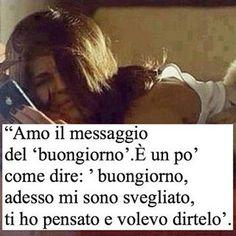 """""""#buongiorno #frasi #tumblr #messaggi #amore #cit #frasi ❤️"""""""