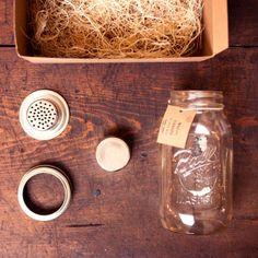 How we like our cocktails: Shaken' not stirred  / Mason Jar Shaker