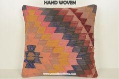 Vintage Pillows Annaliese Kaeleb #floorpillow #cotton #handmade #cushion #bohemians #farmhousestyle #bohofashion  #boholife #primitivedecor #handwovenfabric #wooly #petcushion