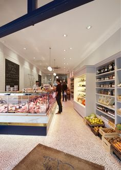 Butcher Shop Interior - Design by Tania Payne Interiors Ltd