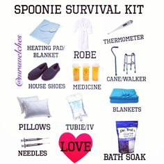 This is perfect! Need a little spoonie case to keep these all together.