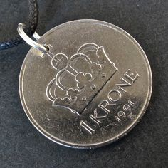 this is the first time I've seen my  currency as a pendant. And I love it.