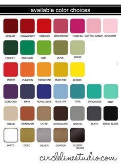 circlelinestudio.com - color chart