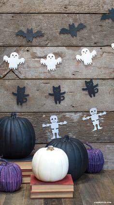 Garland for Halloween Decoration Ideas