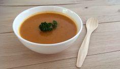 Een heerlijke pittige pompoen paprika soep met tomaat en kruiden van Jonnie Boer