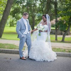 Awesome interracial couple wedding photography ❤ I love the way the groom is looking at his bride #love #wmbw #bwwm #swirl #wedding #lovingday #relationshipgoals