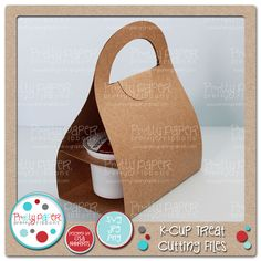 K-Cup Treat Cutting Files - Great idea for a gift for the coffee lover in your life.