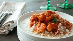 Spicey Creole Shrimp on Smokey Rice