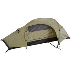 One Man Recon Coyote Tan Waterproof Double Layer Tent Best Backpacking Tent, Best Tents For Camping, Camping And Hiking, Camping Survival, Tent Camping, Camping Gear, Survival Gear, One Man Tent, Hiking Usa