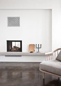 Robuust betonnen interieur #concrete #interior